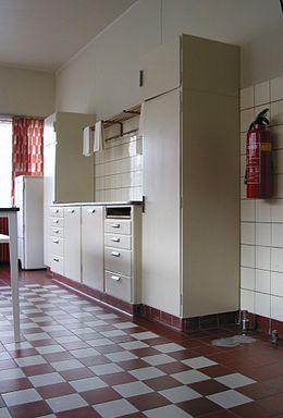 Bruynzeel kitchen at Sonneveld House, museum Rotterdam