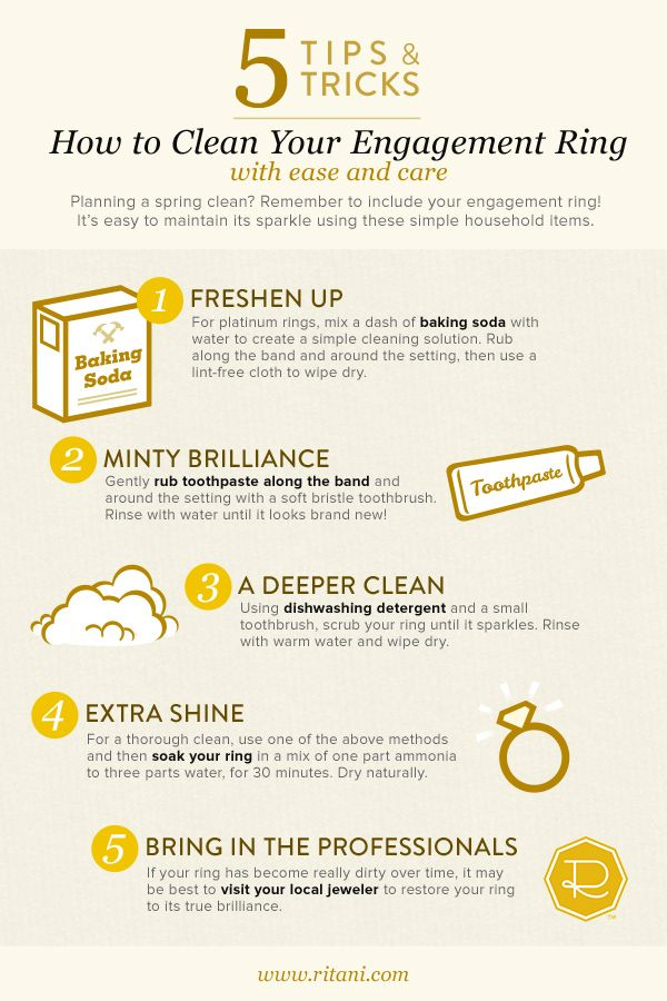 Top 25 best Cleaning diamond rings ideas on Pinterest Clean