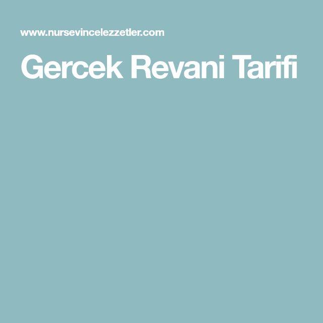 Gercek Revani Tarifi