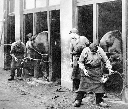 Oostplein Paardensmit 1930