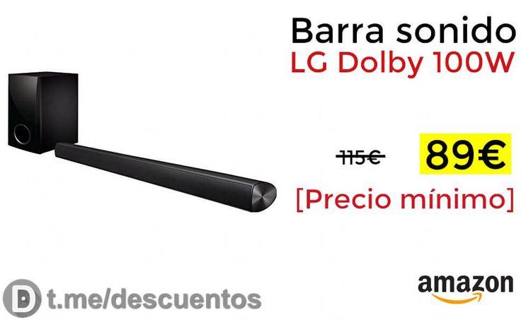 Barra de sonido LG Dolby 100W disponible por 89 - http://ift.tt/2BGXdnl