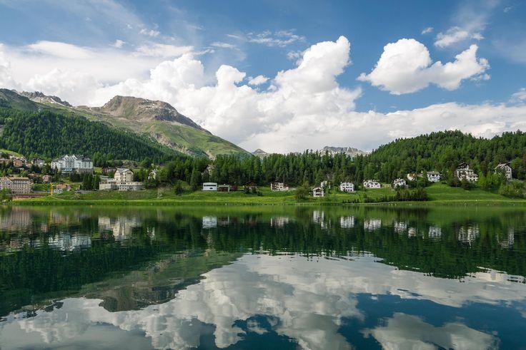 St.Moritz Lake by 致民 陳 on 500px