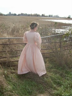 1820s day dress