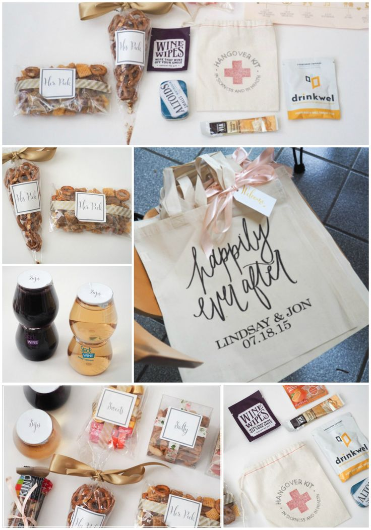 ... Wedding Welcome Bags Timeline, Wedding welcome bags and Happily ever
