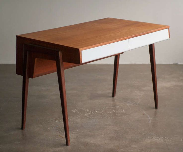 1950s dutch mid century modern teak desk modern desk teak and dutch