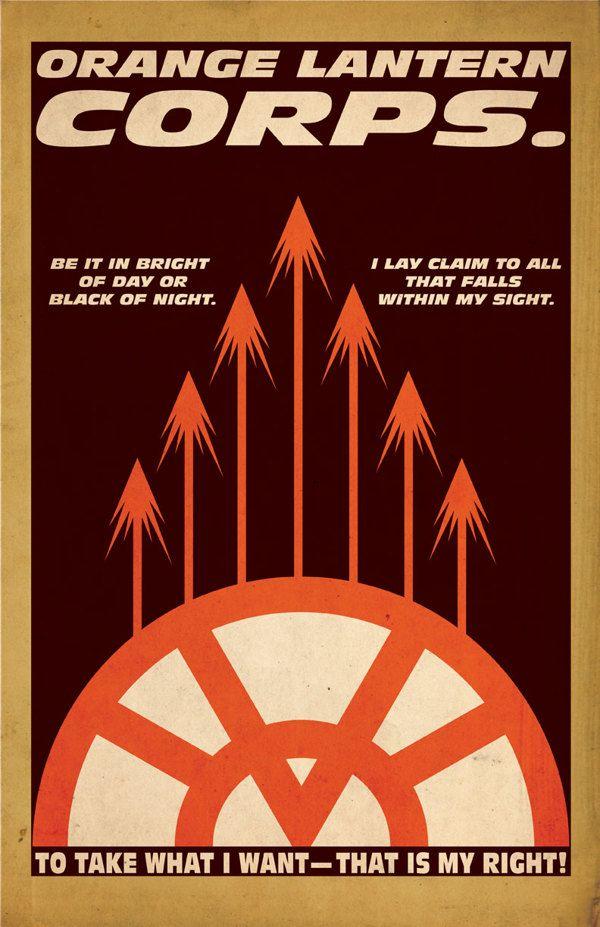 Orange Lantern's Oath Lantern Corps. Series :: Franklin Napier