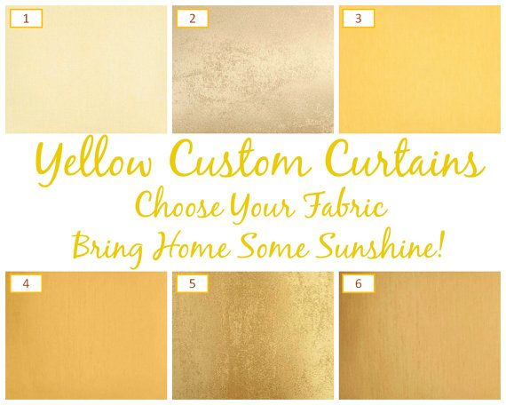 Yellow Custom Curtains: Fully Lined, Six Styles, Handstitched -- Oh and Did We Mention FREE Shipping?!  ♥♥♥♥♥♥♥♥♥♥♥♥♥♥♥♥♥♥♥♥♥♥♥♥♥♥♥♥♥♥♥♥♥♥♥♥♥♥♥♥♥♥♥♥♥♥♥♥♥♥♥♥♥♥♥♥♥♥♥♥♥♥ This listing is to order ANY FIVE SWATCHES from our collection. Collection can be browsed at:  www.SpiffySpools.com  Just send us names of FIVE FABRICS that you like from our collection after purchase. ♥♥♥♥♥♥♥♥♥♥♥♥♥♥♥♥♥♥♥♥♥♥♥♥♥♥♥♥♥♥♥♥♥♥♥♥♥♥♥♥♥♥♥♥♥♥♥♥♥♥♥♥♥♥♥♥♥♥♥♥♥♥ Yellow curtains, mustard yellow curtains, yellow drapes, yellow…