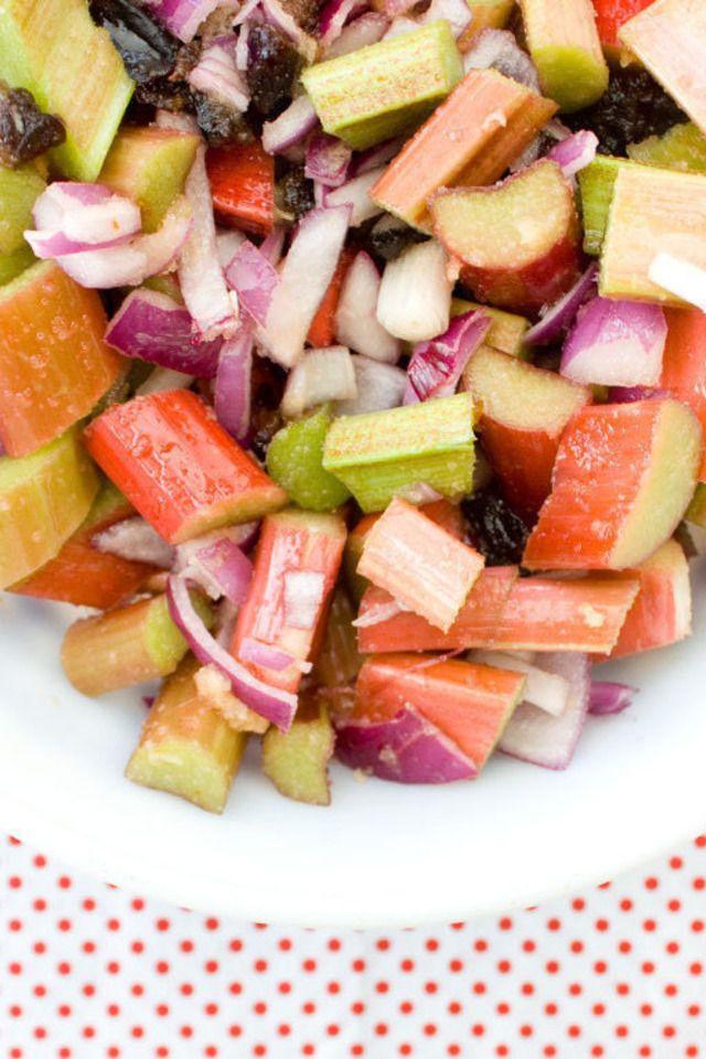 Rhubarb & Red Onion Chutney   Food and Libations   Pinterest