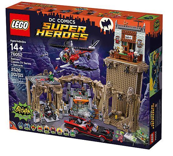 LEGO 76052 Batman Classic TV Series  Batcave (retiring set)  LEGO Canvas Tote Bag  Double VIP points $215.99 ...