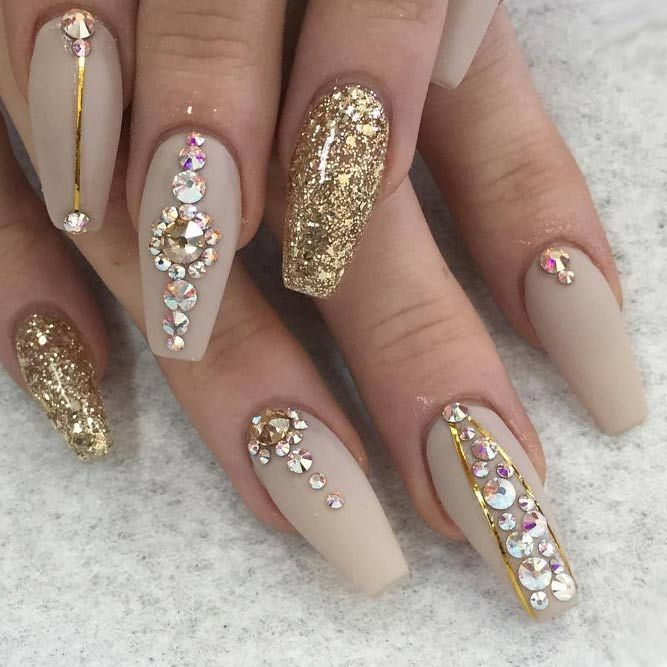 Nail Art For Prom: 36 Amazing Prom Nails Designs - Queen's TOP 2019