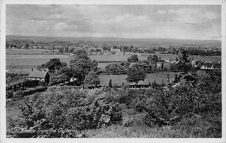Chinnor from the Chilterns, near Nettlebed, General View 1944 | eBay