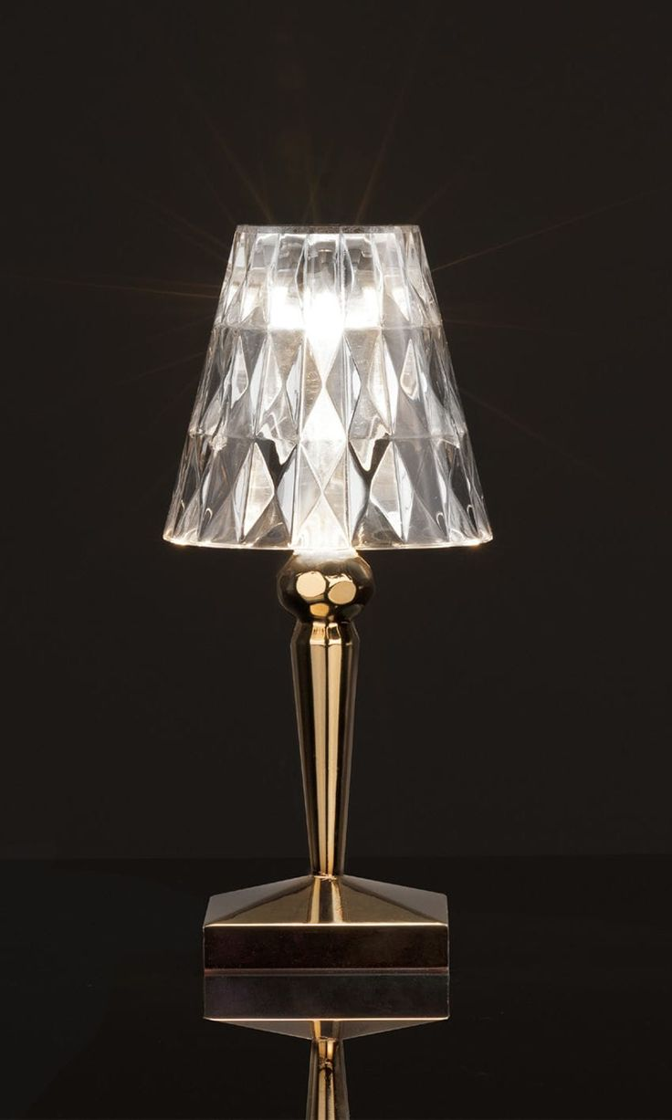 Kartell Lampe De Table Bourgie Crystal - Lampe De Chevet Kartell bourgie table lamp crystal by kartell best kartell abat jour