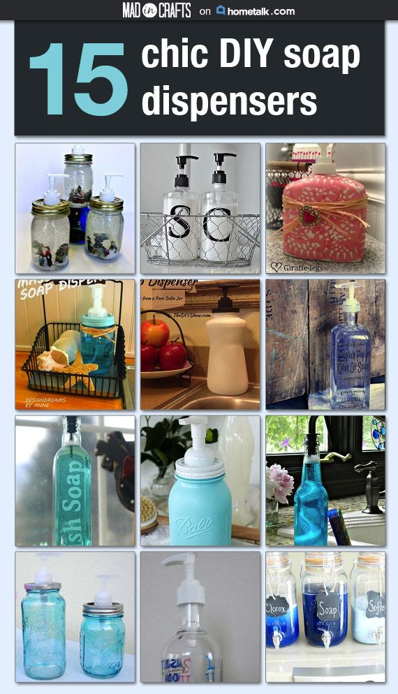 25 Best Ideas About Diy Soap Dispensers On Pinterest Foaming Soap Dispenser Foaming Soap And