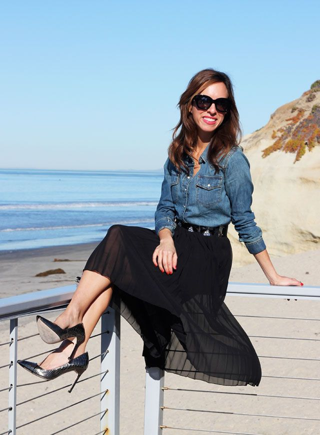 Sydne-Style-Fab-14-giveaway-asos-gift-voucher-gift-card-win-denim-shirt-pleated-skirt-silver-shoes