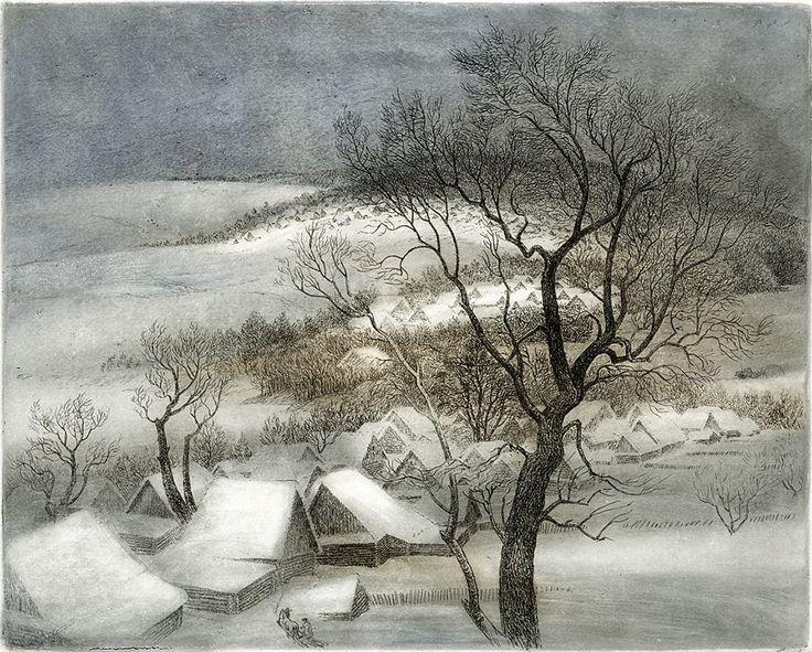 Снег. 1994 Виталий Губарев