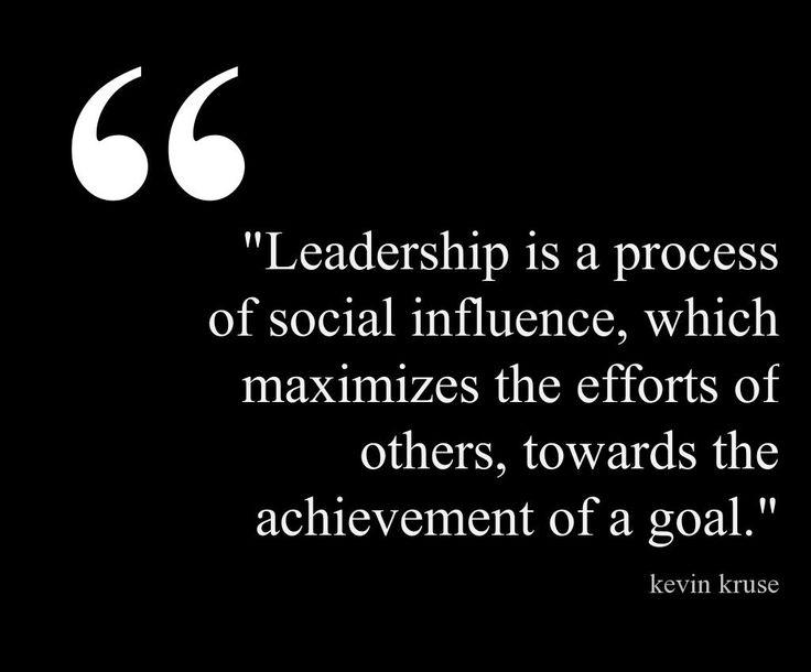 #leadership #social #influence