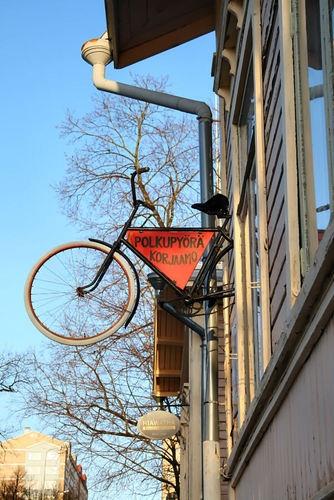 Bicycle repair in Jyväskylä