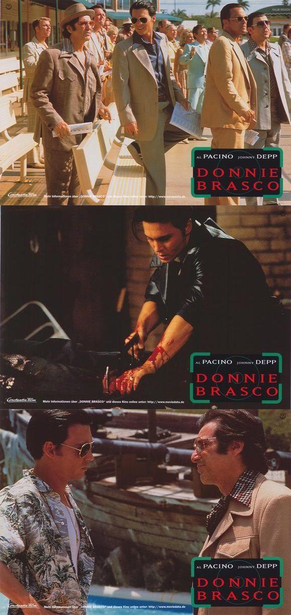 Donnie Brasco - Official lobby cards 4-6 #GangsterMovie #GangsterFlick