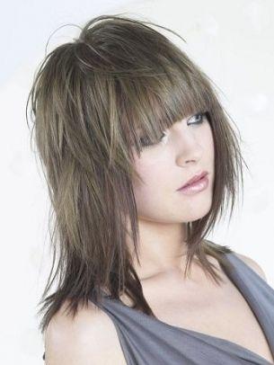 Рваные стрижки на средние, длинные и короткие волосы | VolosoMagia.ru