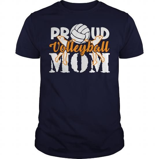 PROUD VOLLEYBALL MOM SHIRT TSHIRT HOODIE
