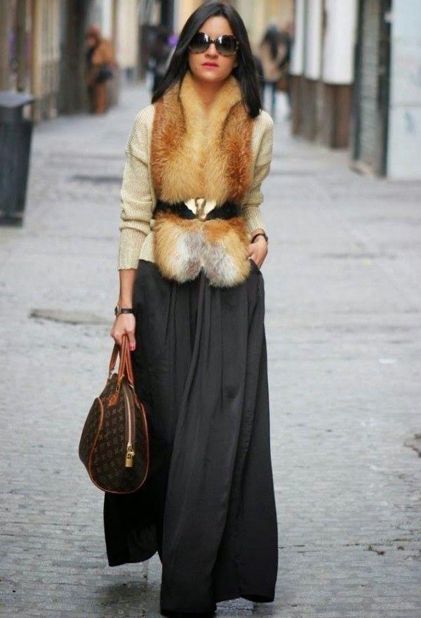 O pêlo é uma super tendência desta estação fria – entrem em qualquer loja e vão ver que se deparam logo com várias peças peludas. D… | MODA -INSPIRAÇÃO de 2019 | Pinterest | Estola de pele, Moda inverno e Inverno