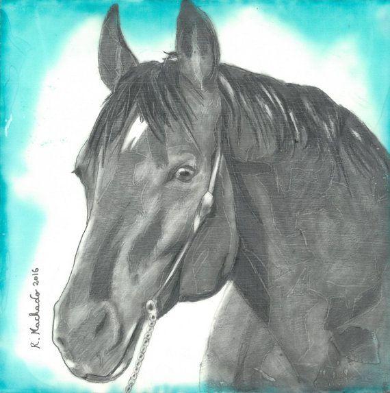 Original horse, horse art, horse artwork, horse painting, black horse, original art, original painting, animal, animal painting, animal art