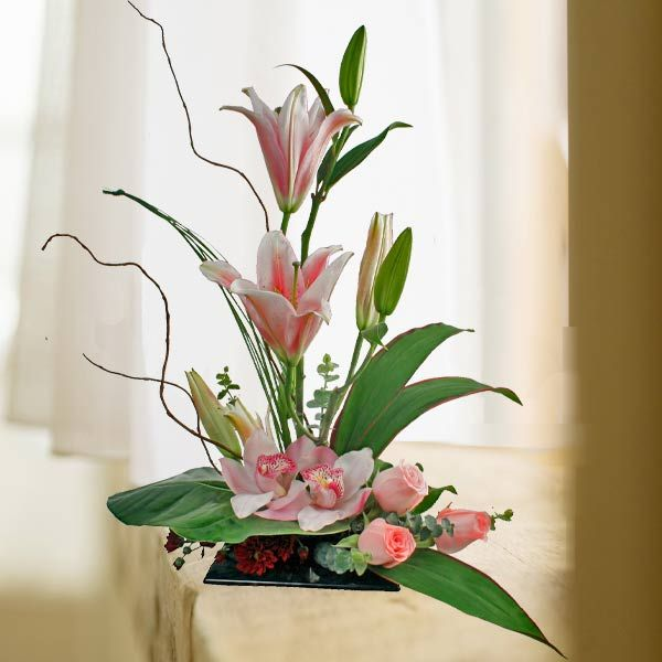 95 best ikebana flower arrangement images on pinterest. Black Bedroom Furniture Sets. Home Design Ideas