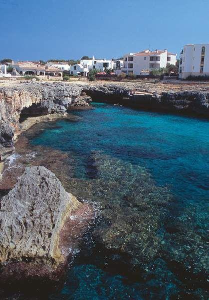 Cala Blanca, Menorca.