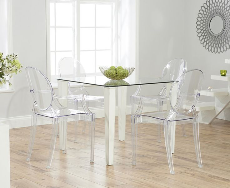 1000 ideas about clear chairs on pinterest ghost chairs for Dressing a dining room table