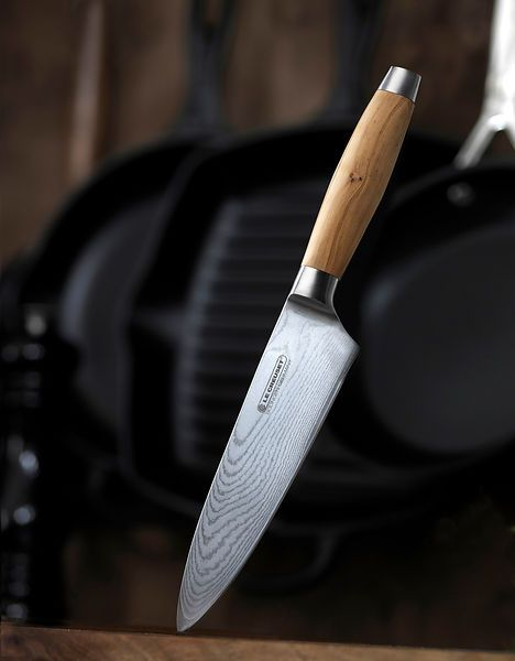 20 cm Chef Knife in Olive Wood