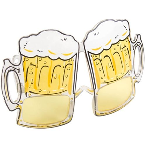 Beer Themed Glasses for Australia Day for $5.  Delivery available Australia wide.  Parcel Post $8.  Express Post $10.