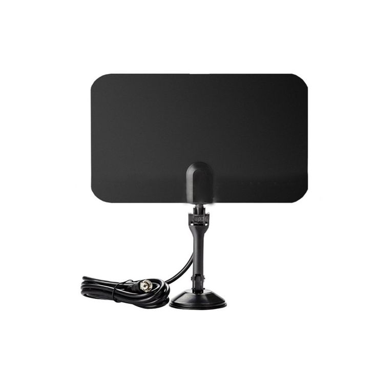 Black Thin Flat Indoor Antenna HD High Def TV Fox Scout HDTV //Price: $12.97 & FREE Shipping //     #hashtag4