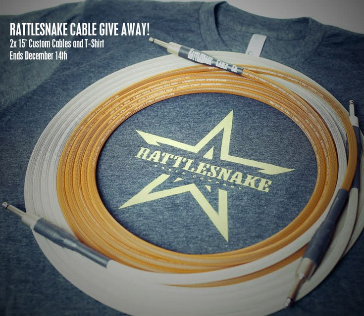 Rattlesnake Cable Give Away - Win a Cable Package @RsnakeCableCo #RSNAKE http://swee.ps/vXfIdddSf