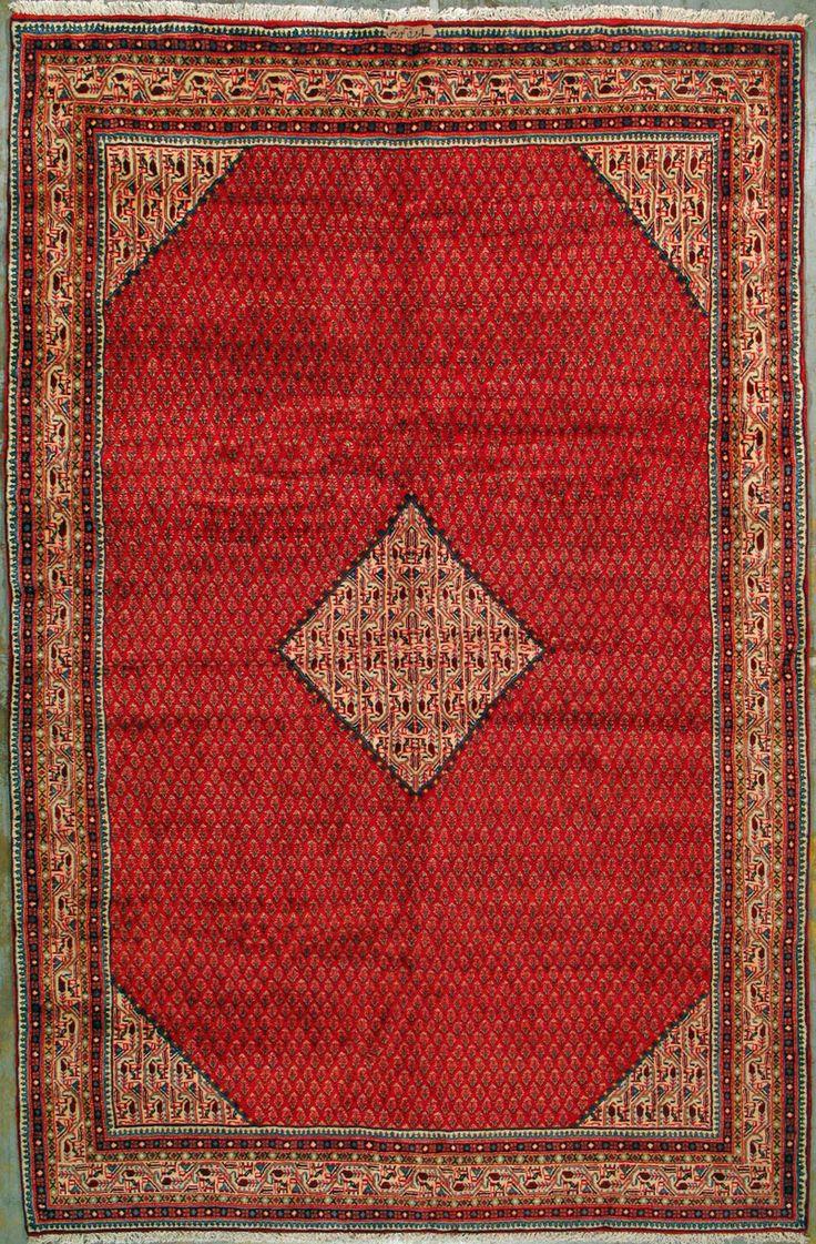 Sarough Persian Rug   X