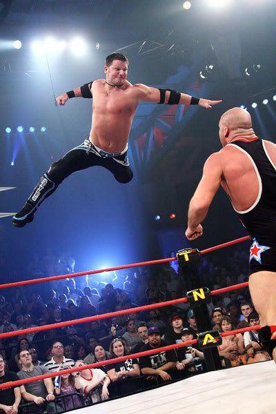 AJ Styles (with Kurt Angle)