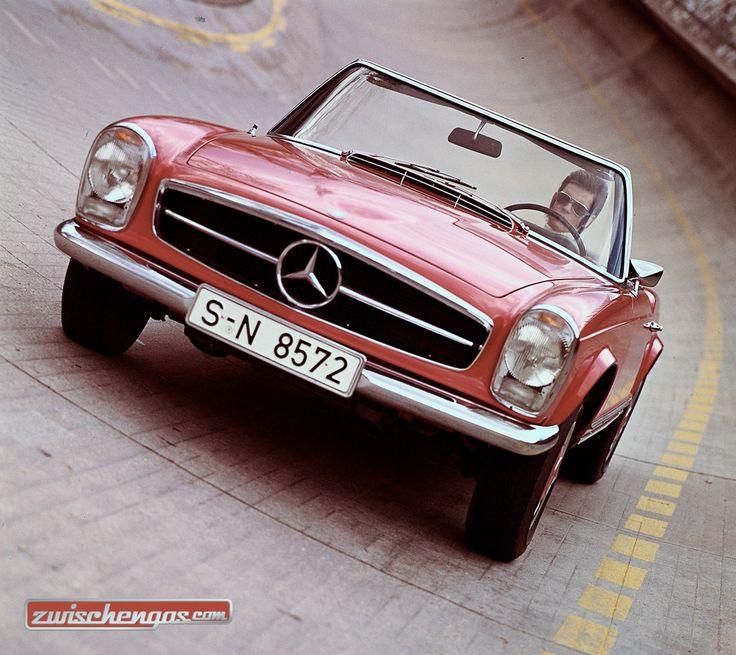 Die ganz besondere Pagode - Mercedes-Benz 280 SL mit Fünfganggetriebe © Daimler AG #Pagode #MercedesBenz #1968 #MercedesBenz280SL #classiccar #classiccars #oldtimer #auto #car #cars #vintage #retro