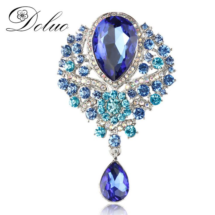 Cheap crystal brooch, Buy Quality brooch fashion directly from China fashion brooch Suppliers: Genuine high-grade crystal brooch Bin for female fashion color Brooch pendant braised flower accessories Jewelry