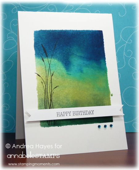 Here's a terrific technique with video to try! Watch the video below and create cards like these created by Andrea Hayes:     ...
