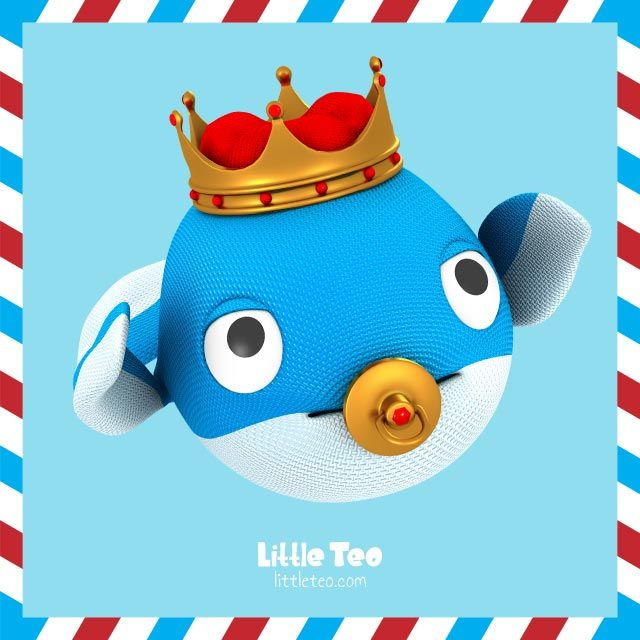 It's a new born baby king. Visit LittleTeo.com to see more.