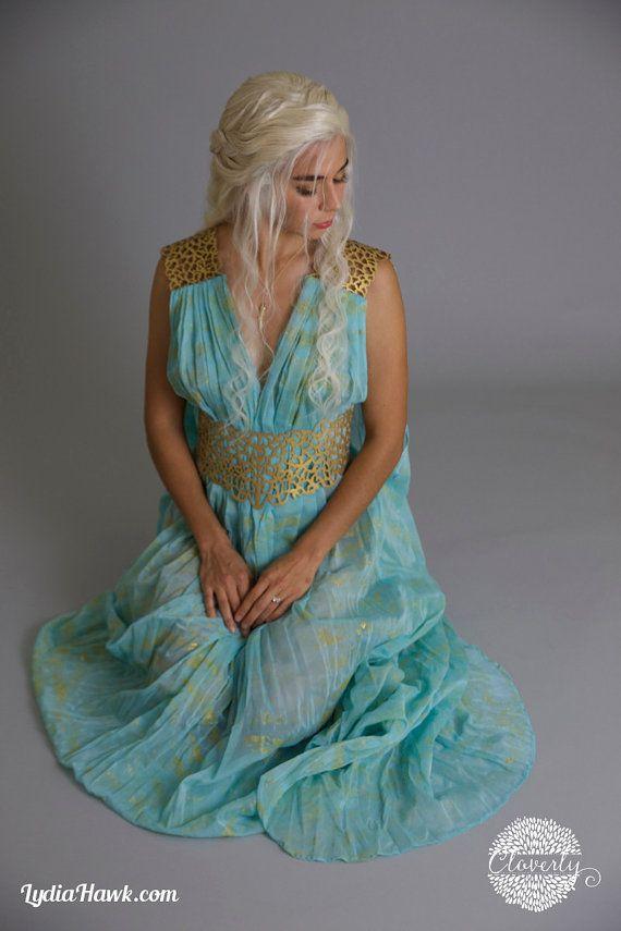 25 best ideas about khaleesi halloween costume on for Daenerys targaryen costume tutorial