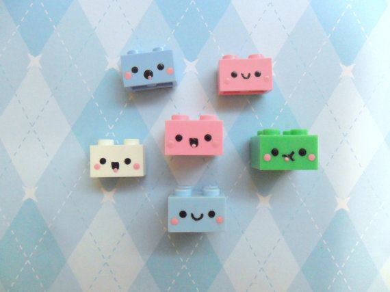 #kawaii #charms #polymer #clay #bricks