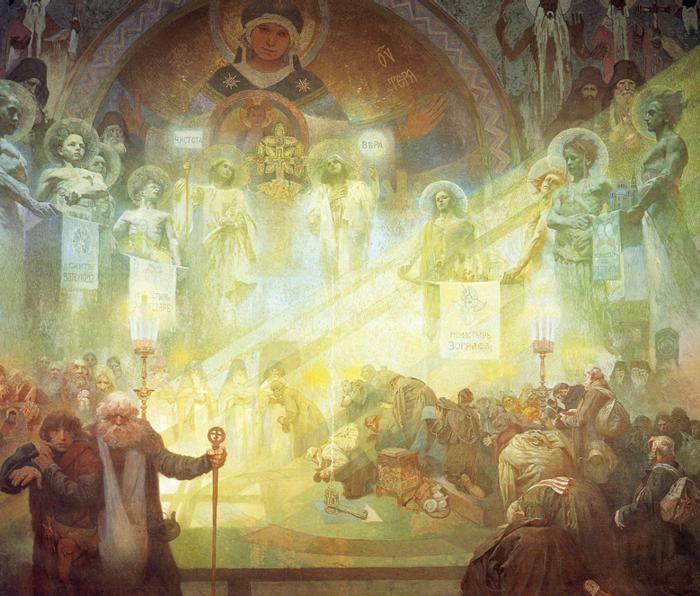 Der Heilige Berg Athos, 1926.