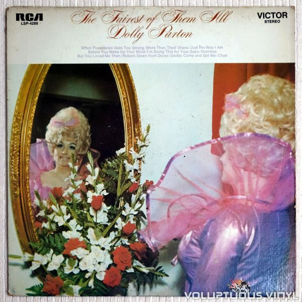 Fifth album from Dolly Parton, never been re-issued.