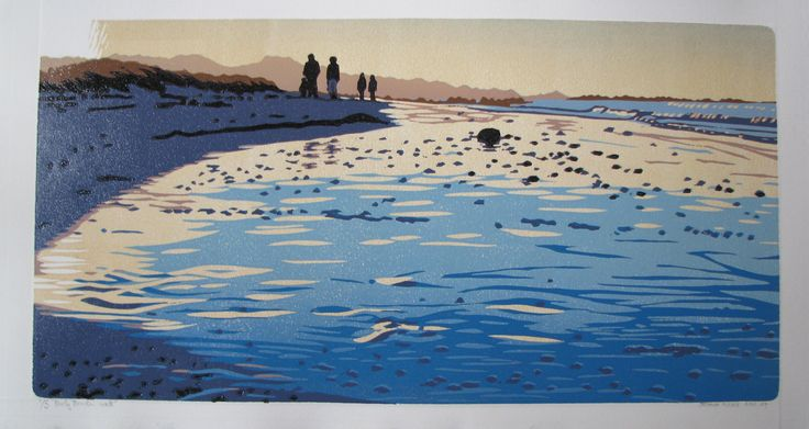 Joshua Miles: Pearly-Beach-Walk