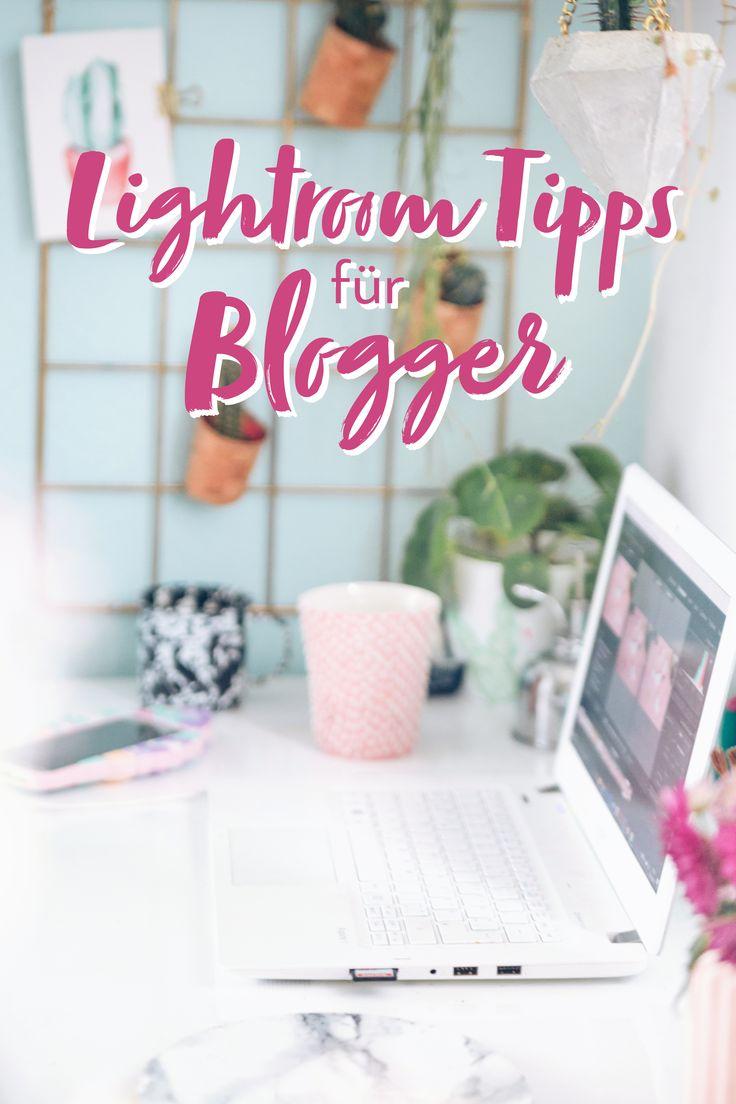 Fotos bearbeiten mit Lightroom: Tipps für Blogger, um schnell und einfach schöne Bilder für den Blog mit Adobe Lightroom zu bearbeiten
