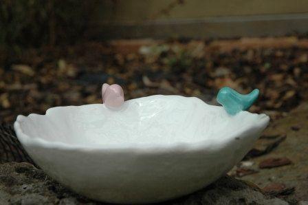 Trinket Bowl Bird Nest by SaSuDesigns on Etsy, $39.00