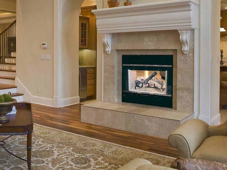 11 best Multi-Sided Fireplaces images on Pinterest | Gas ...