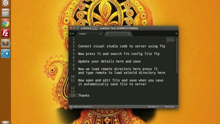 Add FTP/SFTP in Visual Studio Code - TrinityTuts