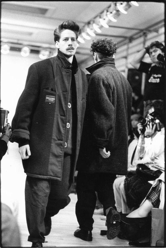 COMME DES GARÇONS HOMME PLUS 85-86 #menswear #designer #mode #style #fashion #clothing #outfit #classic #retro #archive