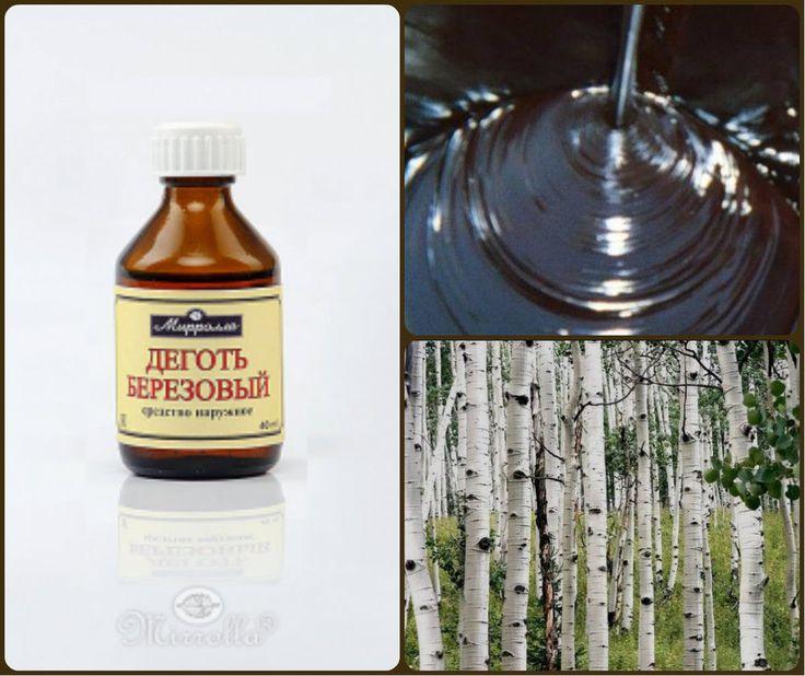 Mirrolla Pure Birch tar 100 % Natural Treatment  40 ml